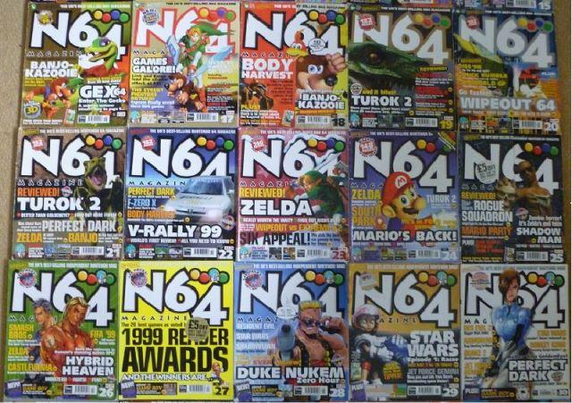Image result for N64 magazine