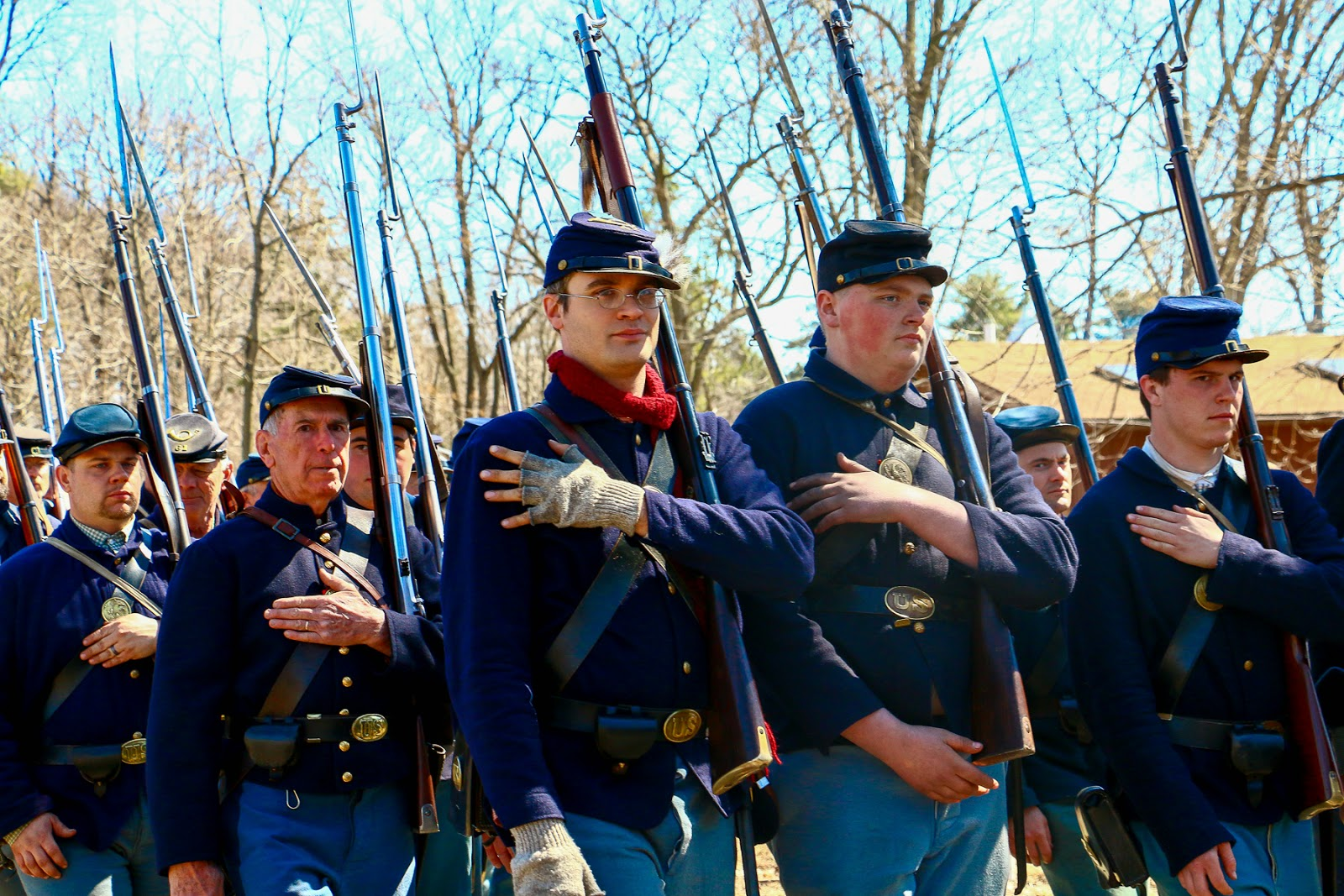 Neshaminy Civil War Reenactment