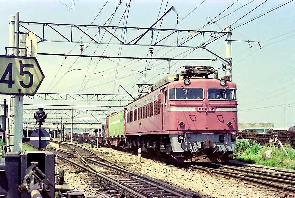 国鉄EF81形電気機関車