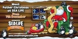 Santa at the Sealife Centre
