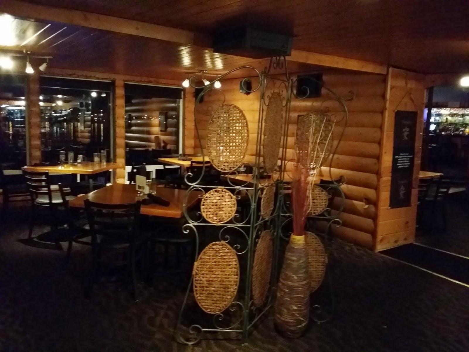 interior of Bay 839 Pacific Island Grill