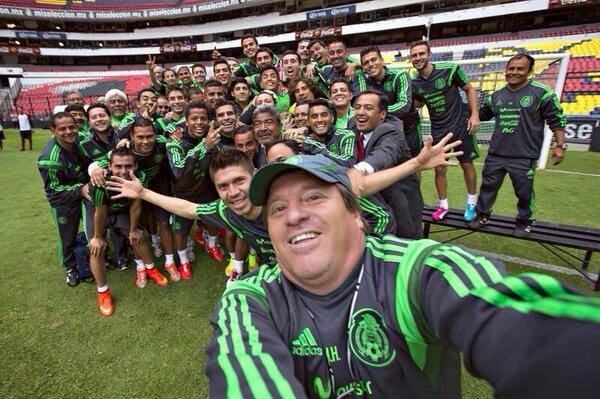 Selfie Selección Mexicana