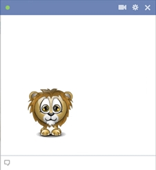 Little lion emoticon