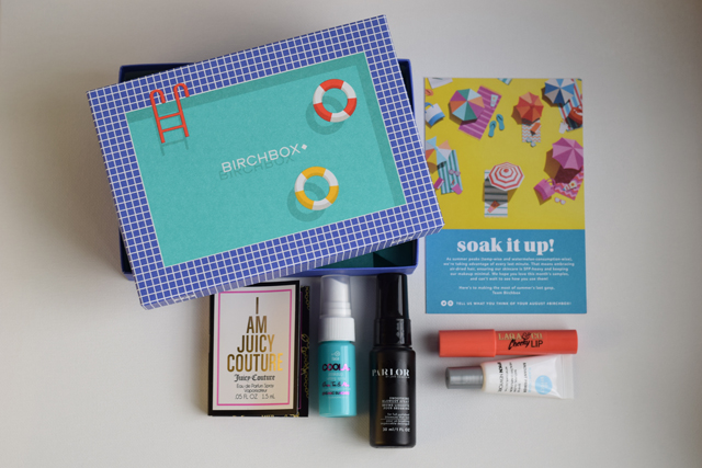 A Day In The Lalz; Birchbox; August 2015; Summer, Beauty Products