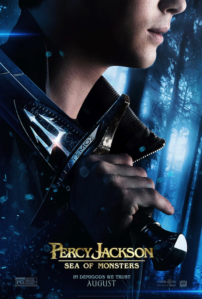 Percy Jackson: Sea Of Monsters Poster