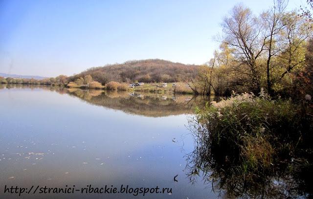 рыбалка на Раевском озере