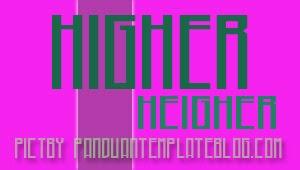 Font Gratis Untuk Design - Higher