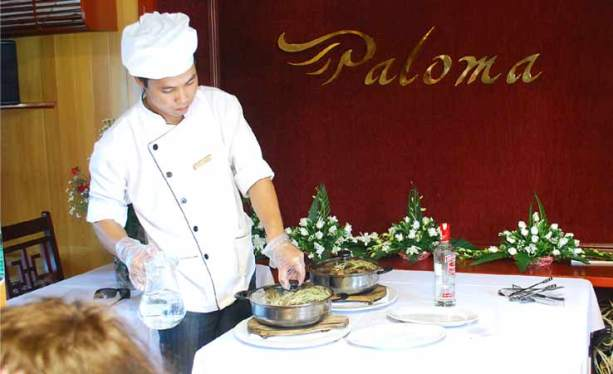 Cooking Class - Paloma Cruise