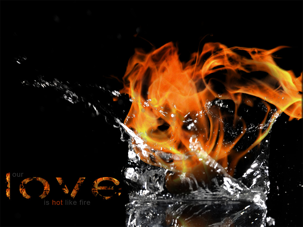 WALLPAPERS: WATER FIRE