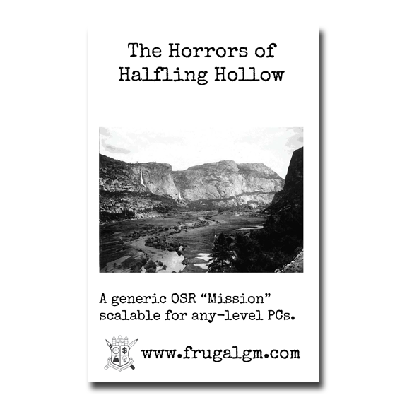 FGM035: The Horrors of Halfling Hollow Coming Soon to DTRPG