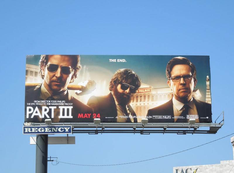 Hangover Part3 billboard