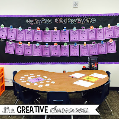 Monster theme bulletin board ideas