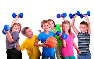 Benefícios da prática de exercícios físicos para crianças