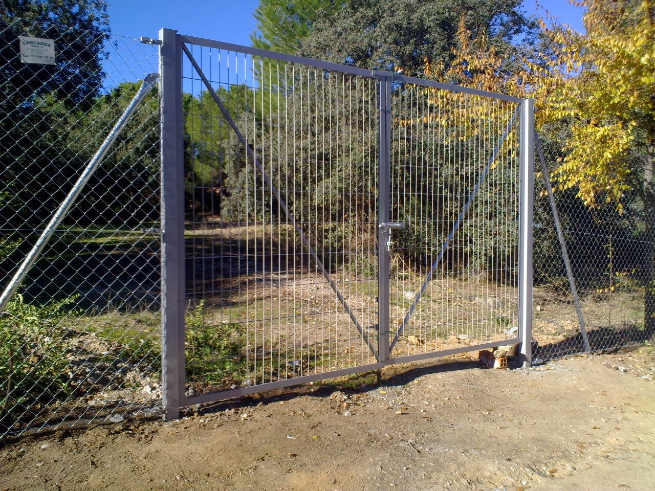 Puerta 4m por 2m