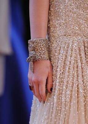 Miley Cyrus Gemstone Cuff Bracelet