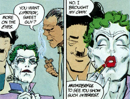 from Billy gay batman joker