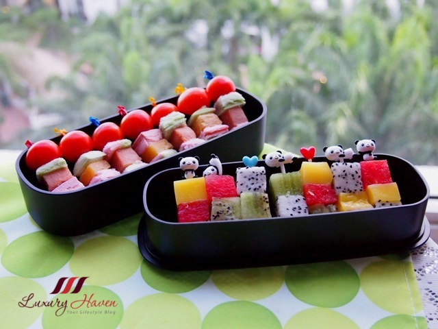 funbites rubix fruit cubes kids recipe
