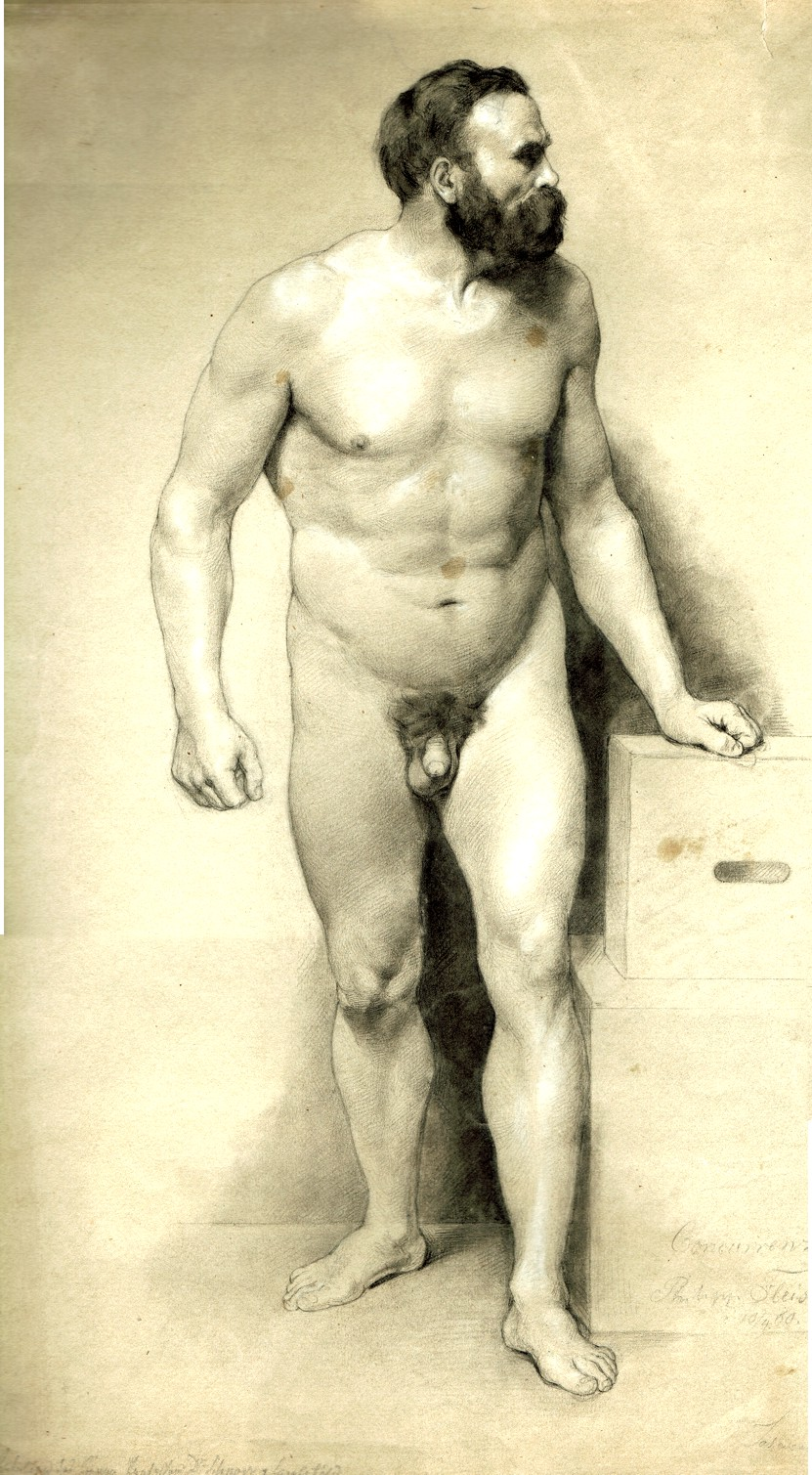 Giclette !!!  19th century nude men love