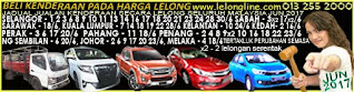 1-30/6/17 JADUAL 60 JUALAN KENDERAAN LELONG SELURUH MALAYSIA,SEKITAR KLANG VALLEY-SELANGOR/K LUMPUR
