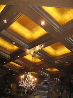 22K gold ceiling