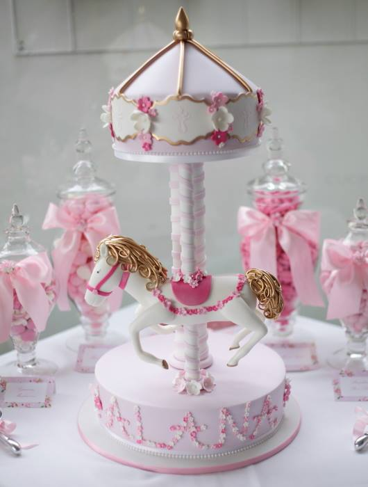 Little Big Company The Blog Pink Carousel Themed