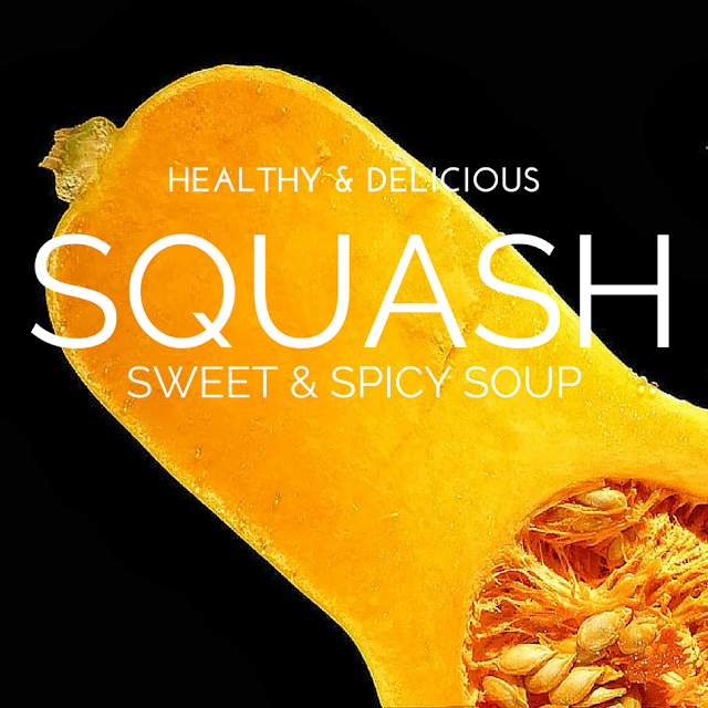 Keep butternut squash in that grocery cart and often! It is loaded with health benefits and is a great diet food.  Here is an amazing easy soup recipe featuring that sunny shaded gourd that keeps you strong! The Health-Minded.com