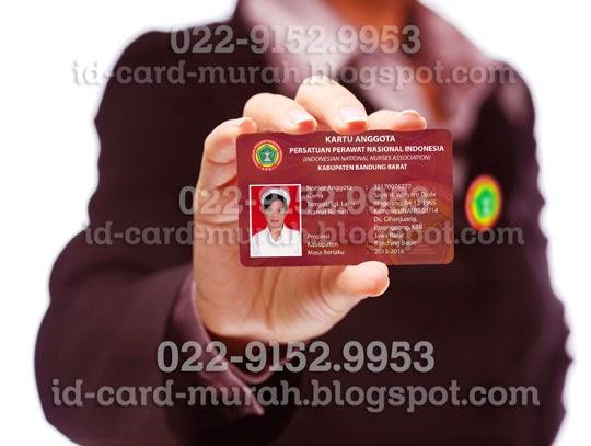 cetak kartu anggota ppni persatuan perawat nasional indonesia bandung barat id card murah