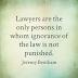 Quotations regarding Lawyers.