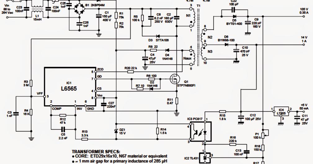 led light driver circuit diagram the wiring diagram smps 50 watt led street light driver circuit electronic circuit circuit diagram