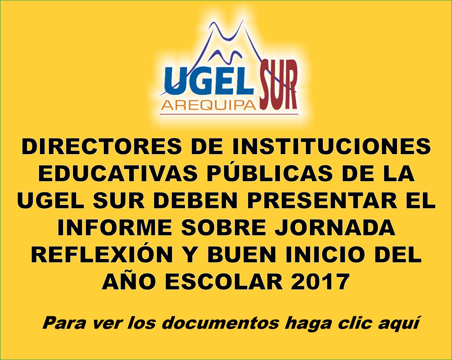 INFORME SOBRE JORNADA REFLEXIÓN Y BUEN INICIO DEL AÑO ESCOLAR 2017