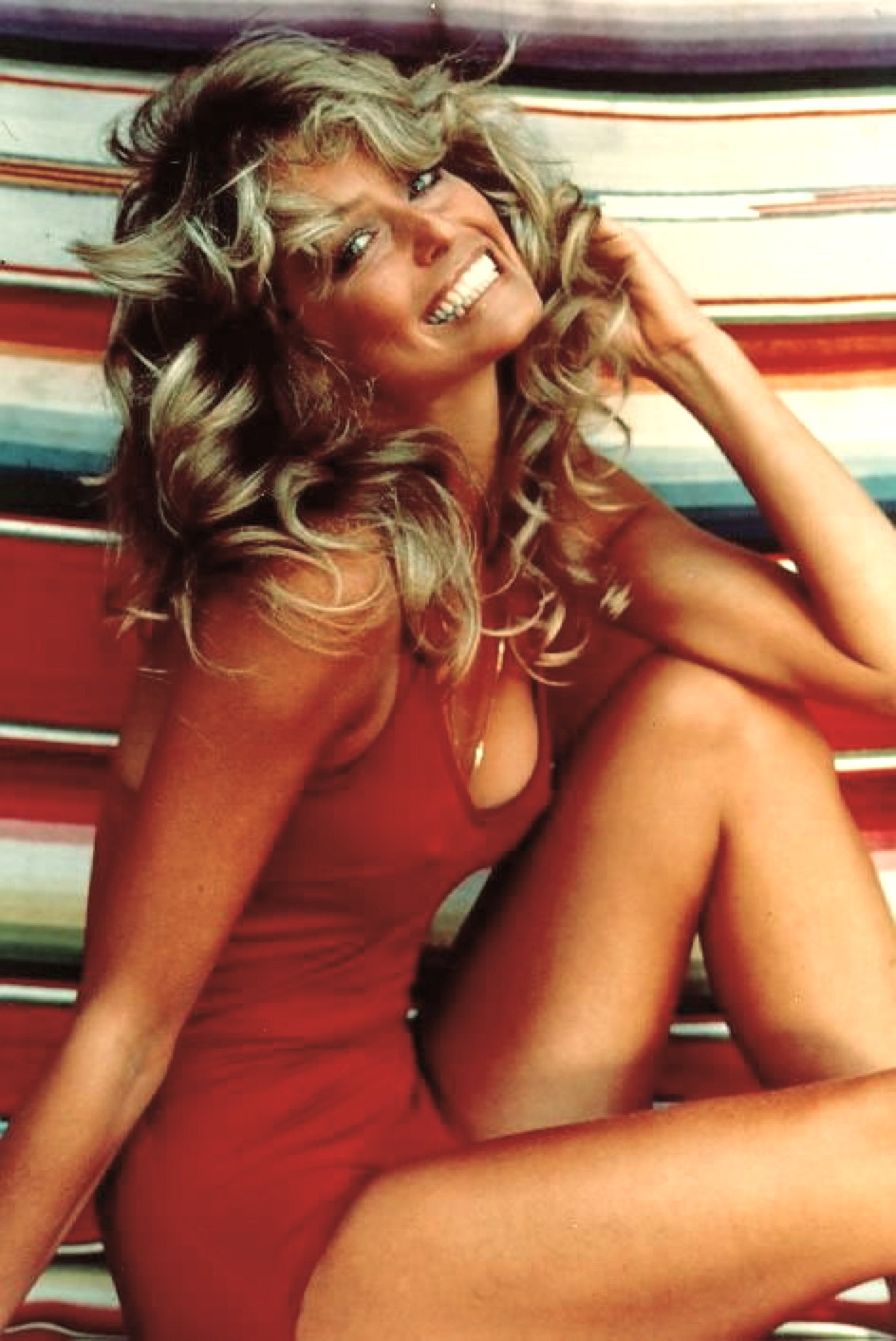 This iconic image of Farrah became the best-selling poster of all time