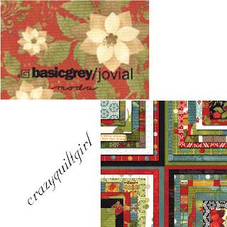 Moda JOVIAL Christmas Quilt Fabric by basicgrey