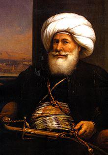 L'albanese Mehmet Ali Pasha, il fondatore dell'Egitto moderno nel 1805