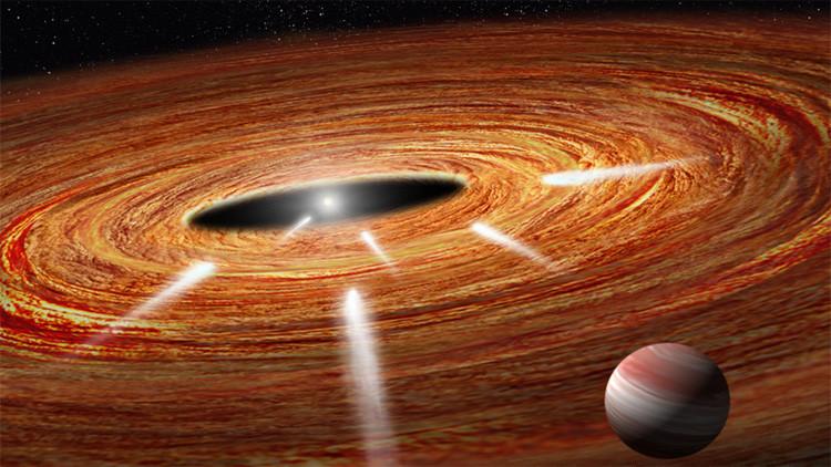 Hubble detecta cometas 'suicidas' hundiéndose en una estrella cerca de la Tierra