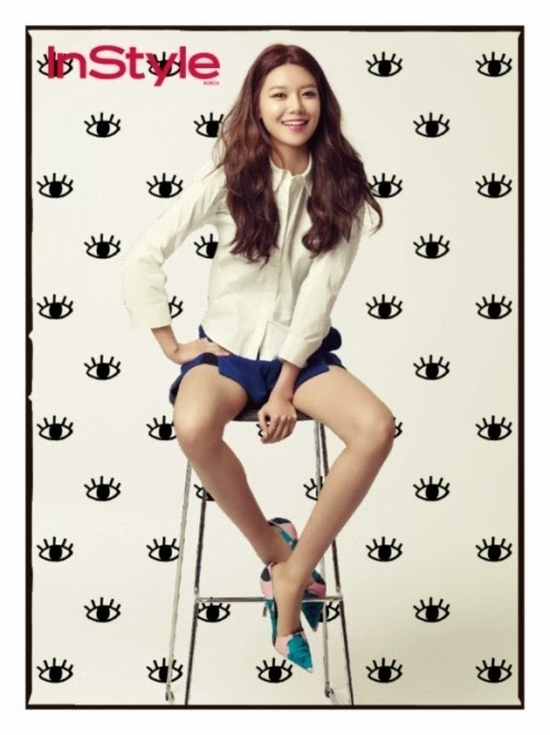 Sooyoung SNSD Girls' Generation - InStyle Magazine March Issue 2014