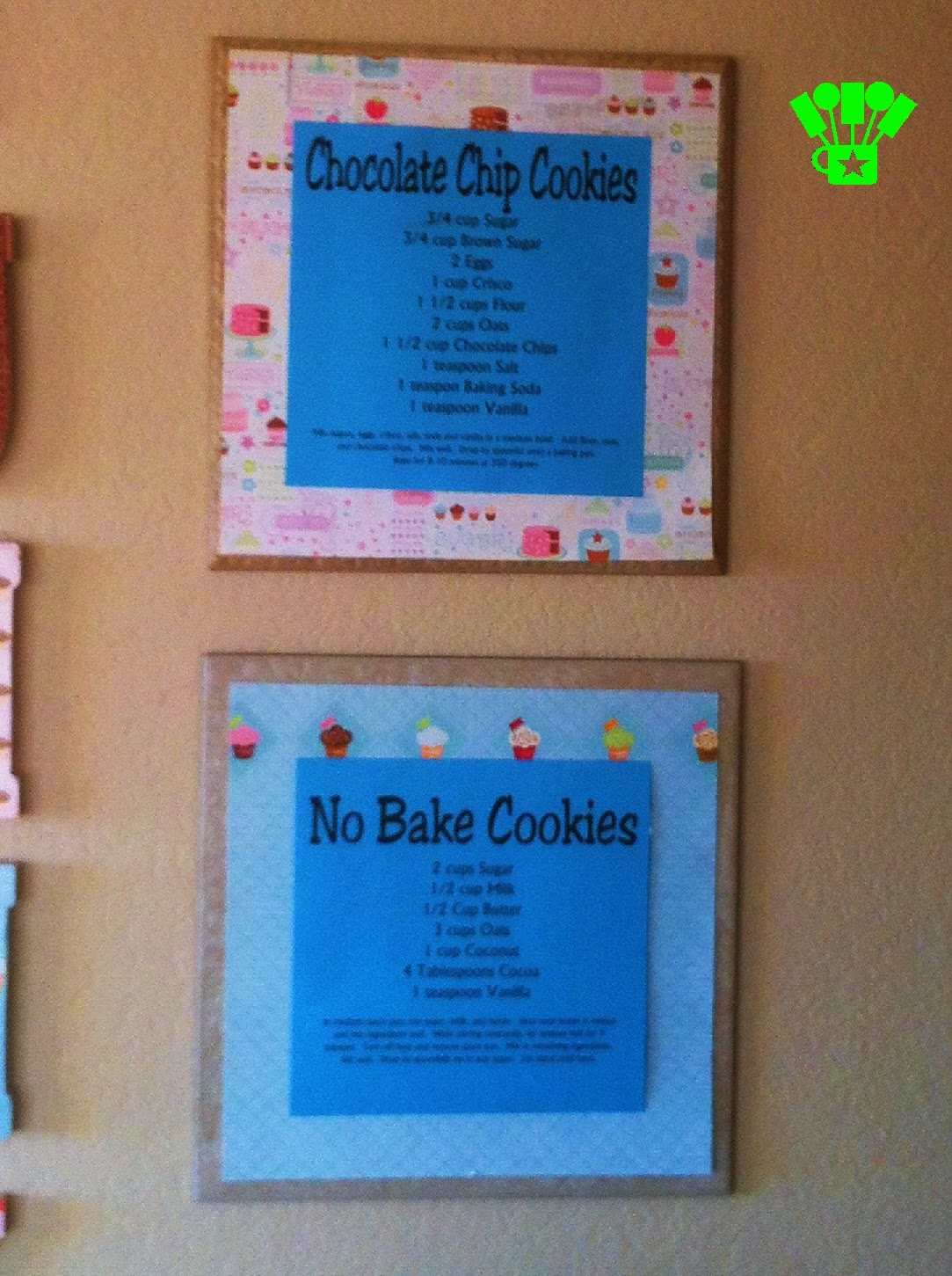 Renters Kitchen Decoration Recipe Signs