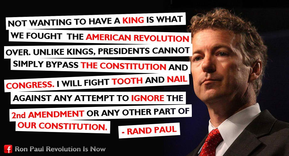 2Nd Amendment Quotes Simple Light Your World Rand Paul On The 2Nd Amendment