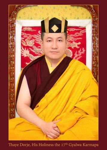 HH Buddha Karmapa 17th Trinley Thaye Dorje.