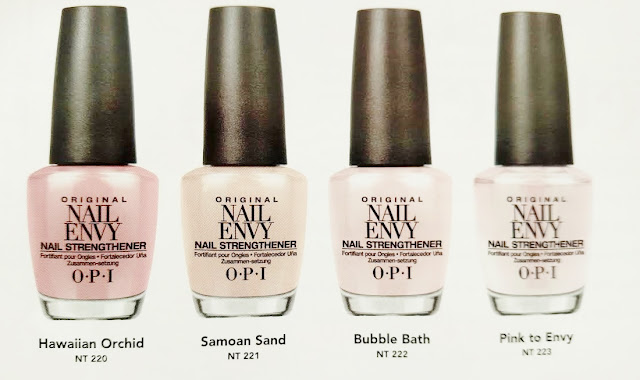opi nail envy colors