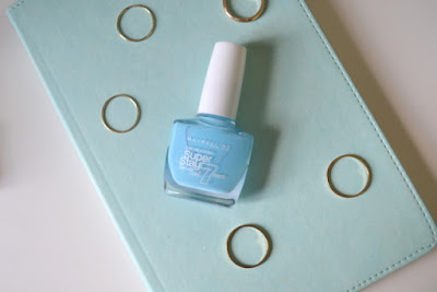 Maybelline Super Stay Gel Nail Colour in Uptown Blue
