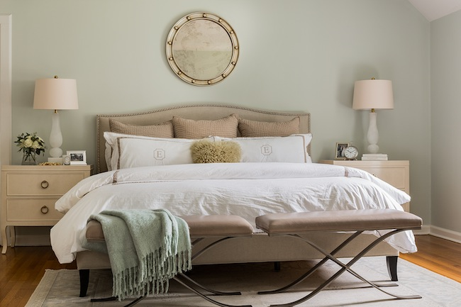 Modern country style farrow and ball pale powder colour for Bedroom inspiration farrow and ball
