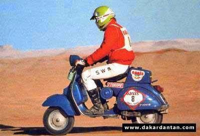 Vespa Paris Dakar 10