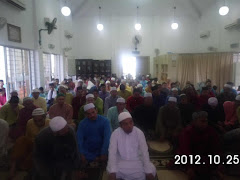 Solat Sunat AidilAdha & Program Kurban & Aqiqah 2012 Surau Saidina Ali