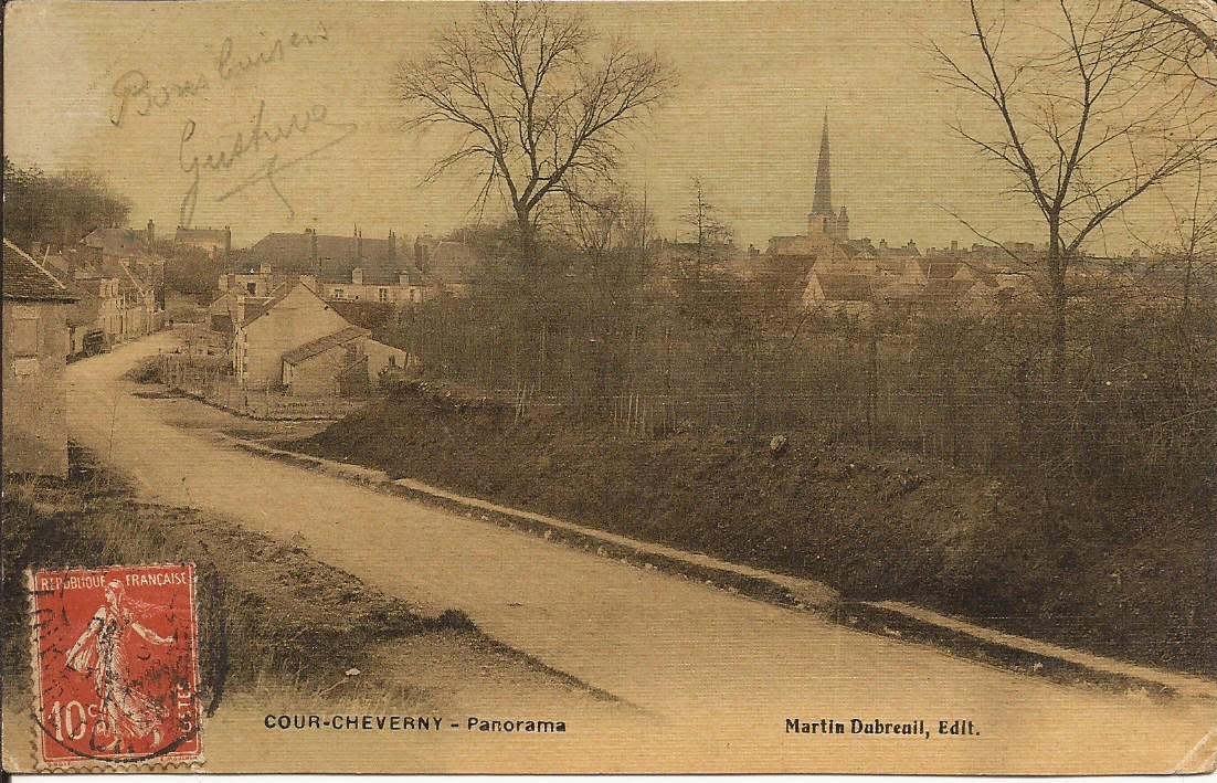 Cour-Cheverny - Panorama