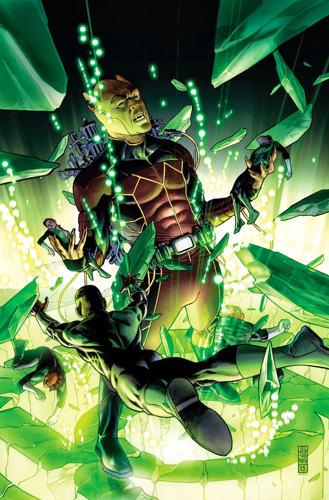 Lights Out continues in Green Lantern Corps 24