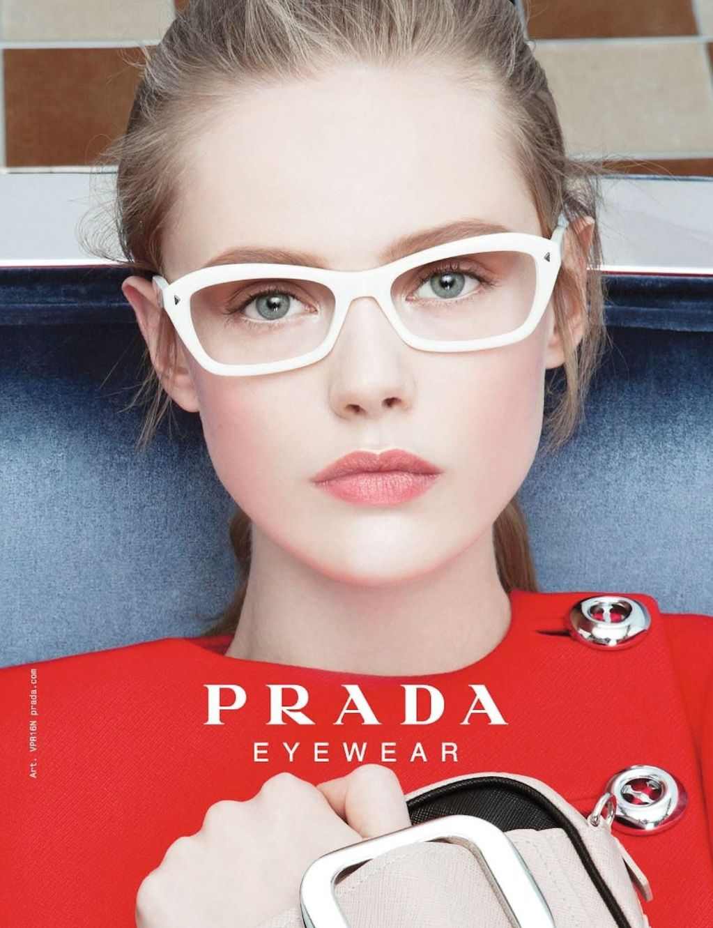 Eyeglass Frames On Models : Frida Gustavsson for Prada Eyewear 2011AW About A Girl...