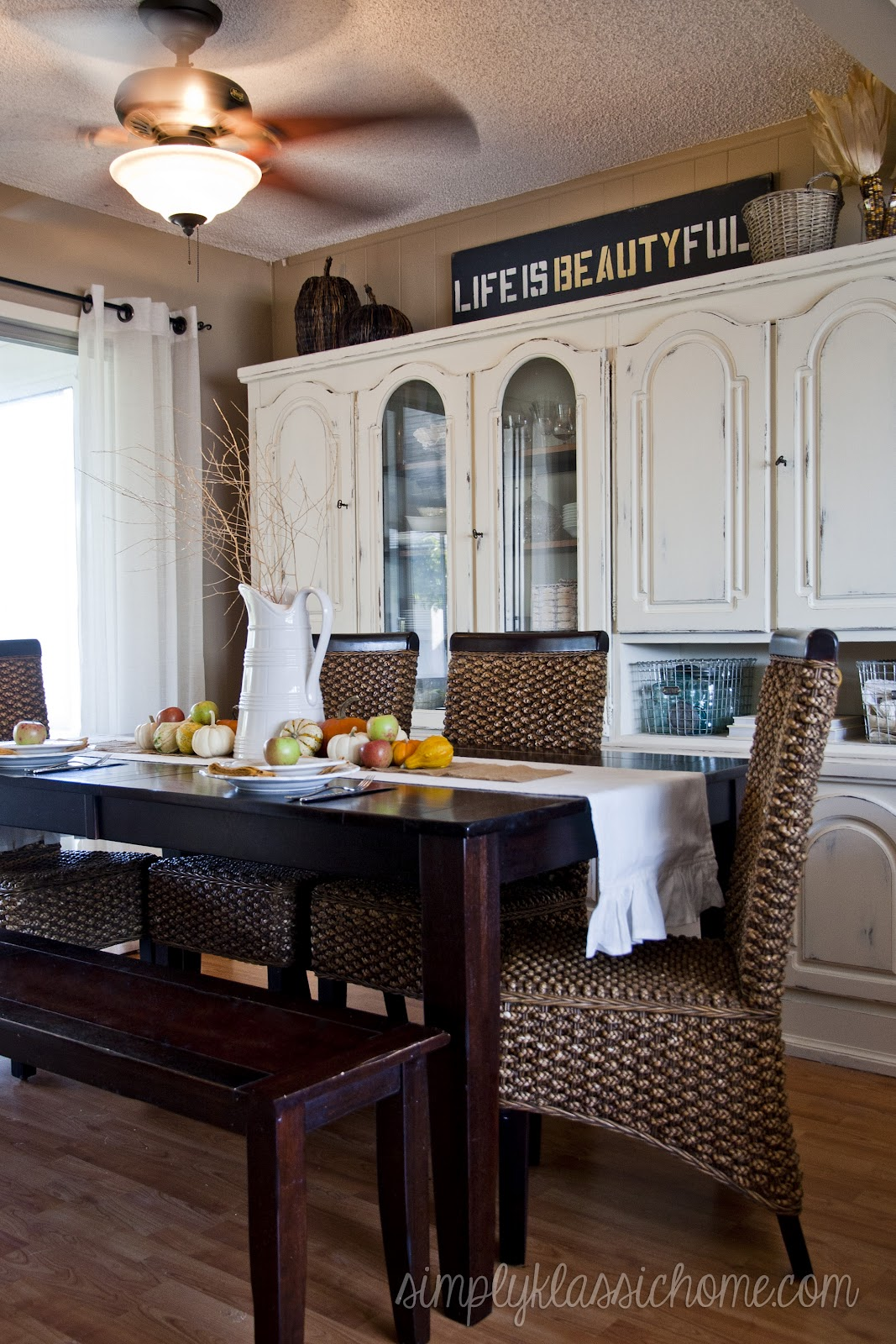 Fall Dining Table Decorating Ideas Photograph Fall Dining