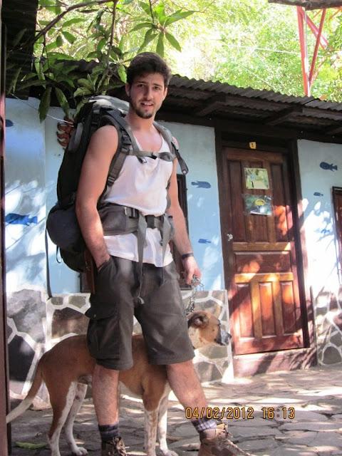 backpacking hiking swimming Nicaragua