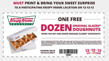 Past Krispy Kreme Coupon Codes