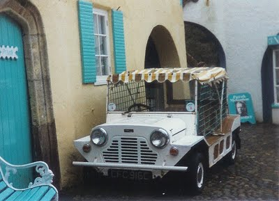 Four Mini Mokes were said to have been converted by Wood u0026 Pickett in the summer of 1966 for the Prisoner series and transported to Portmeirion in ... & David Stimpson: Prisoner Mini Moke Survives!